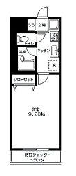 神奈川県川崎市高津区千年新町の賃貸マンションの間取り