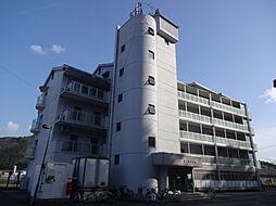 滋賀県東近江市五個荘清水鼻町の賃貸マンションの外観