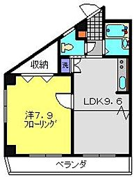 TANAKA HOUSE[2階]の間取り