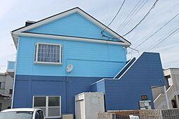 愛知県岡崎市土井町字駒之舞の賃貸アパートの外観