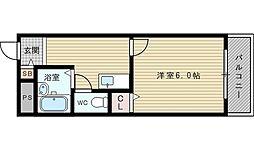 第3中本ビル[1階]の間取り