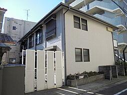 東京都八王子市明神町3丁目の賃貸アパートの外観