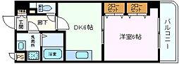 アイズワンII[1階]の間取り