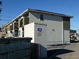 栃木県栃木市都賀町平川の賃貸アパートの外観