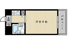 HR下新庄[4階]の間取り