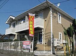 栃木県小山市若木町1丁目の賃貸アパートの外観