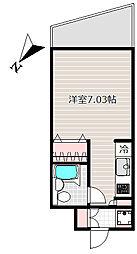 レジディア神田岩本町[6階]の間取り