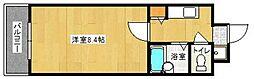 福岡県福岡市早良区室見1の賃貸マンションの間取り