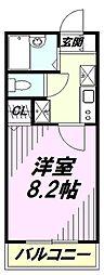 センチュリーコート本川越[4階]の間取り