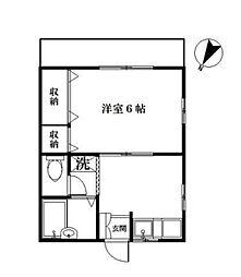 シバラ[1階]の間取り