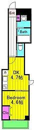 仮)麻生区百合丘1丁目Project 1階1DKの間取り