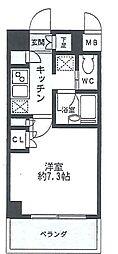 HF駒沢公園レジデンス[307号室]の間取り