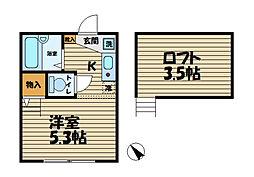 ドミール本郷台I[1階]の間取り