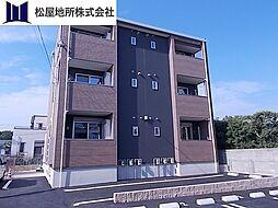 愛知県田原市田原町新清谷の賃貸アパートの外観