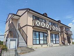 滋賀県彦根市開出今町の賃貸アパートの外観
