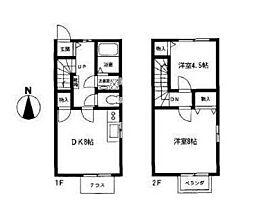 [テラスハウス] 神奈川県横浜市青葉区もみの木台 の賃貸【/】の間取り