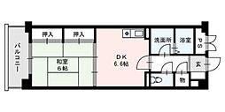 福岡NSビル[703号室]の間取り