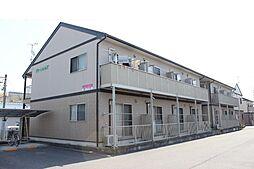 愛知県豊川市大堀町の賃貸アパートの外観