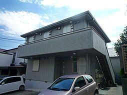 神奈川県横浜市港南区日野9丁目の賃貸アパートの外観