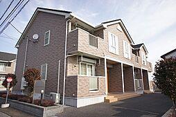栃木県栃木市大平町蔵井の賃貸アパートの外観