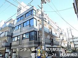 ロータリーマンション香里北之町[3階]の外観