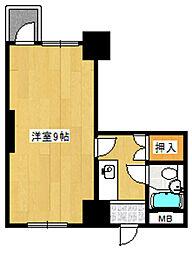 エレナマンション[708号室]の間取り