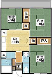 高島第5ビル[4階]の間取り