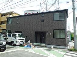 埼玉県川口市坂下町1丁目の賃貸アパートの外観