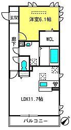 本郷の杜ソグレ[2階]の間取り