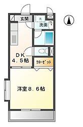 ピュアステージ[3階]の間取り