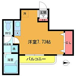 千葉県船橋市西船4丁目の賃貸マンションの間取り