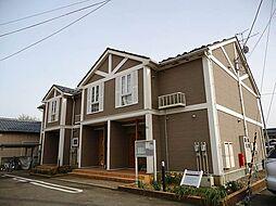 新潟県三条市東裏館2丁目の賃貸アパートの外観