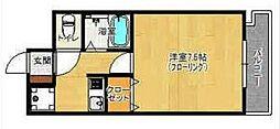 ピュアドームグラシアス大手門[3階]の間取り
