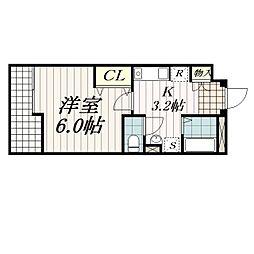 ASTREA東千葉[3階]の間取り