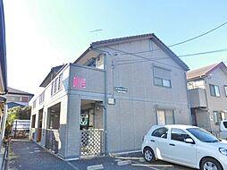 神奈川県大和市福田の賃貸アパートの外観