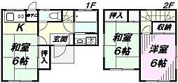 [一戸建] 埼玉県所沢市若松町 の賃貸【/】の間取り