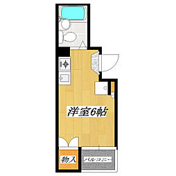 永和第三ビル[504号室]の間取り