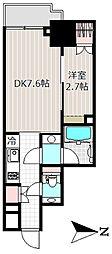 パークキューブ神田[3階]の間取り