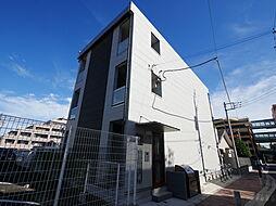 神奈川県海老名市中央1丁目の賃貸アパートの外観