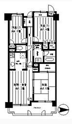 パークヒルズ横浜星川[307号室]の間取り