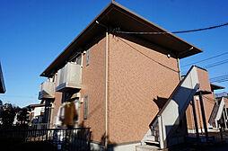 栃木県小山市犬塚4丁目の賃貸アパートの外観