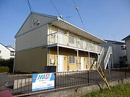 滋賀県野洲市行畑2丁目の賃貸アパートの外観