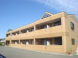 愛知県岡崎市福岡町字永池の賃貸アパートの外観