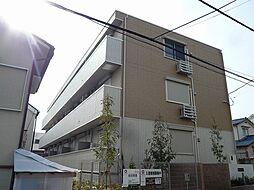 大阪府箕面市新稲1丁目の賃貸アパートの外観