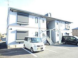 滋賀県守山市古高町の賃貸アパートの外観