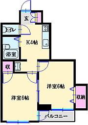 片山ビル[3階]の間取り