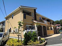 神奈川県鎌倉市常盤の賃貸アパートの外観