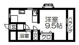 メゾン吉田[210号室]の間取り