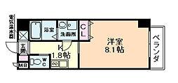 エナブル福島[4階]の間取り