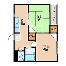 メゾンドプティ[1階]の間取り